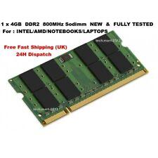MEMORY RAM DDR2 4GB  DESKTOP SERVER LAPTOP VERY FAST UPGRADE (Brand New)1 x 4gb