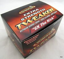Tweaker Extreme Energy Shot Mango-Peach Flavor! EXTRA STRENGTH - 12- 2oz. Shots!