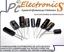 2 pz Condensatori elettrolitici 100uF 500V 105°