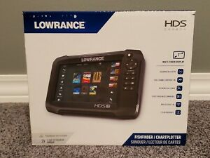 Lowrance HDS Carbon 7 With Warranty