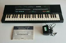 More details for casio mt240 pcm midi synthesizer keyboard casiotone - tested working