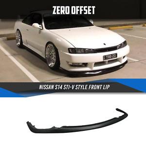 Nissan S14 STI-V Style Front Lip