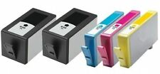 5 NON-OEM 920XL INK CARTRIDGES HP OFFICEJET 6000 6500 6500A 7000 7500A HP920
