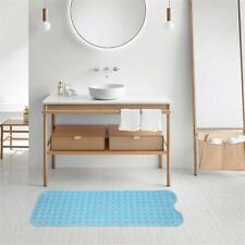 Bathroom Bathtub Non-slip Bath Mat 99*39cm Blue new