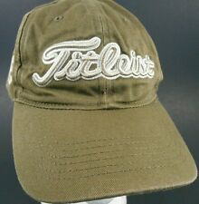 Titleist Slouch Dad Strapback Hat Cap Footjoy Golf Golfing FJ