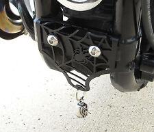 Harley Davidson Sportster Motorcycle Bell Mount Texture Black Spider 2004-2016