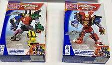 NEW 2 Mega Bloks Power Rangers Super Megaforce LEGENDARY MEGAZORDS 05665 & 05663