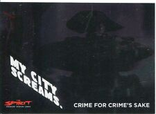 The Spirit [Movie] My City Screams Chase Card MC.2