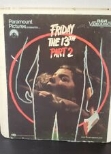 Friday The 13th: PART 2 1983 RCA Videodisc