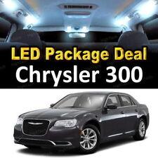 For 2011 2012 2013 2014 Chrysler 300 LED Lights Interior Package Kit WHITE 10PCS