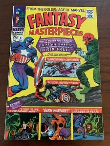 Fantasy Masterpieces #6 (Dec 1966) Captain America and others FN ~6.0