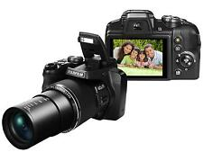 "Fuji S8200 16MP 40x Zoom Digital Bridge Camera Fujifilm FinePix ""DSLR Style 1989"