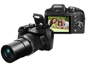 "Fuji S8200 16MP 40x Zoom Digital Bridge Camera Fujifilm FinePix ""DSLR Style 2939"