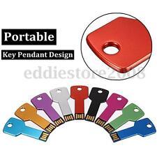 32GB USB 2.0 Metal Key Waterproof Flash Drive Memory Stick Pen Thumb U Disk