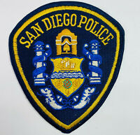 San Diego Police California CA Patch (C4)