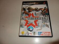 PLAYSTATION 2 PS 2 all STAR BASEBALL 2002