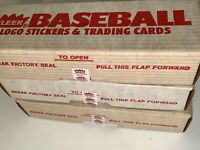 1989 Fleer Baseball Lot of (3) Factory Sealed Sets KEN GRIFFEY ROOKIE PSA 10?