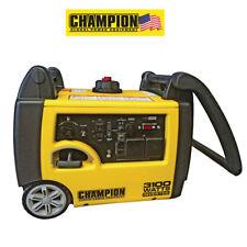 Champion Generator 73001I-E , 3100 Watts Inverter Petrol, 2 x 240v UK 3 Pin