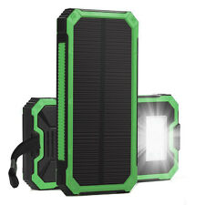 Portable Solar Power Bank 15000mAh External Battery Charger For Phone tablet etc