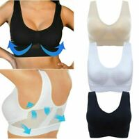 Fashion Women Cooling Summer Sport Gym Yoga Wireless Bra Breathable Lingerie