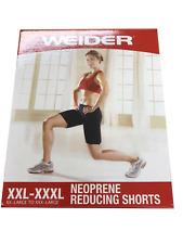 Weider Neoprene Weight Reducing Shorts XXL-XXXL 2-Pack Special