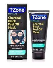 T-ZONE SKINCARE CHARCOAL BLACK PEEL OFF MASK BLACKHEAD IMPURITIES REMOVER FACIAL