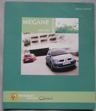 2005 Renault Megane Oasis special edition Fold Out Brochure