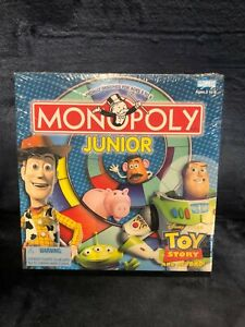 Monopoly Junior Board Game Disney Toy Story and Beyond Brand NEW Sealed