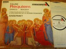 SDD 154 Faure Requiem / Danco / Souzay / Ansermet / OSR