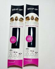 DUO Hair Care Beachwaver Wrap Up Bun Maker Black Full Size NIB