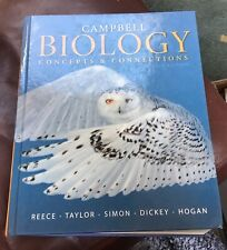 Campbell Biology Concepts and Connections Textbook Eighth Edition!