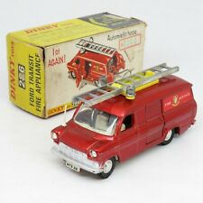 Dinky Toys - 286 Ford Transit Fire Appliance - Metallic Red - Boxed Vintage