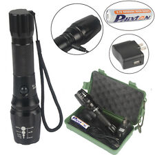 5000lm  USB Rechargeable Flashlight CREE T6 Torche G700 X800 Shadowhawk Lampe