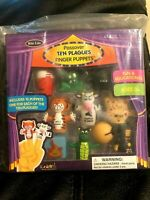Rite-Lite Passover Finger Puppets Judaic 10 Plagues New Fun Educational