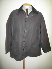 """Barbour Bedale Waxed jacket - L 46"""" Euro 56 in Black"""