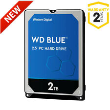 "NEW 2TB WD Blue WD20SPZX 2.5"" 5400rpm SATA Laptop Hard Drive (OEM/Bare Drive)"