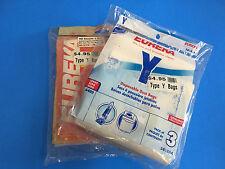 New Genuine Eureka Type Y Vacuum Cleaner Bags -Two Pack*