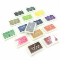 Multi Gradient Colours Set Pigment Ink Pad Craft Card Making Rubber Stamp Paper