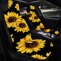 2Pcs/Set Printing Universal Car Seat Covers Front Seat Cushion Sea
