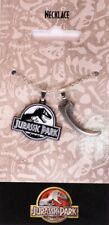 Jurassic Park Necklace - Logo and Claw Official New