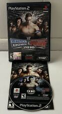 WWE SmackDown vs. Raw 2010 (Sony PlayStation 2 PS2, 2009) Complete