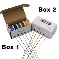 100m 26AWG Flexible Silicone Wire Cable 10 color Mix box Electrical WireWire