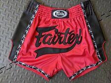 4 PCS FAIRTEX MUAY THAI NYLON SHORTS KICK BOXING MMA YODSANKLAI SIGNATURE BSY01
