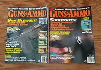 Guns & Ammo Magazine 1994 Back Issues Lot of 2  Aug Sept  Glock Taurus S&W C50