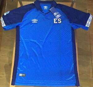 El Salvador 2019/2020 Home Soccer Jersey Umbro Men's Blue S-M-L-XL New with Tags