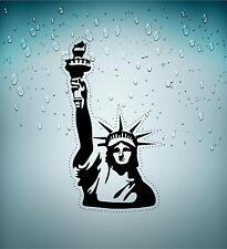 Sticker adesivi adesivo murali auto moto new york statua della liberta usa r2