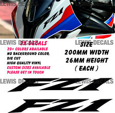 Yamaha FZ1 V2 Stickers Decals Motorcycle Fairing Panel Belly Pan
