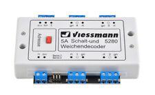 Viessmann 5280 Multiprotokoll Schalt- und Weichendecoder -  NEU & OVP