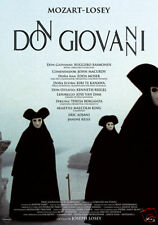 Mozart's Don Giovanni Joseph Losey cult movie poster print