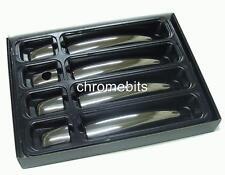 CHROME 4 DOOR HANDLE COVERS STEEL FOR CITROEN C4 C4 PICASSO BERLINGO DISPATCH